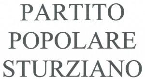 PARTITO POPOLARE STURZIANO - scritta